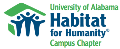 University of Alabama Habitat for Humanity campus chapter logo