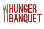 Hunger Banquet logo a program through Impacting Bama