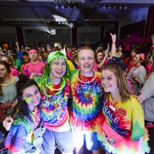 University of Alabama students pose during the 2016 UADM Main Event
